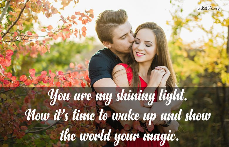 Sweet romantic Good Morning messages Two