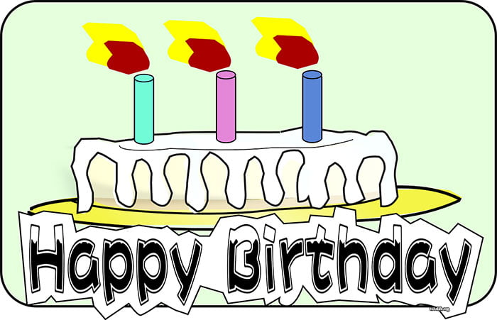 Birthday Candles Images clip art