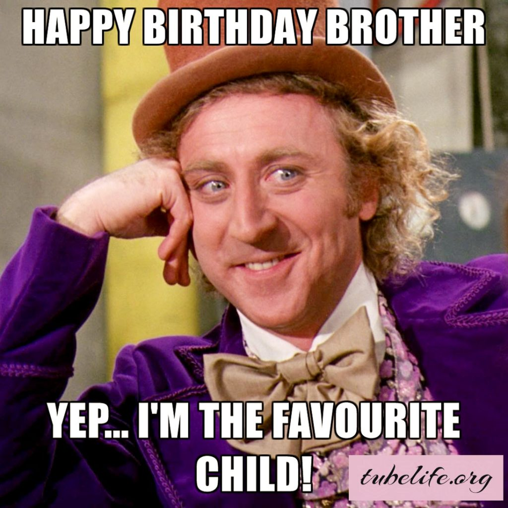 Funny Birthday Memes for Brother