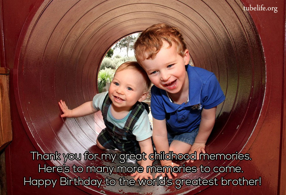 Heart Touching Birthday Wish for Brother