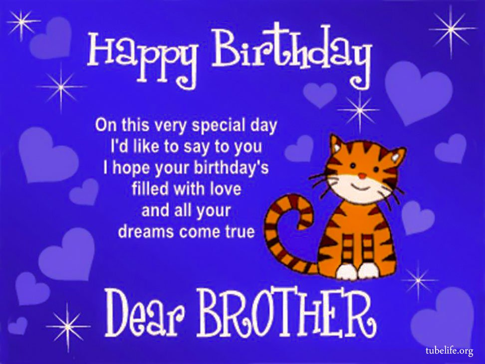 happy birthday wishes for younger brother on facebook