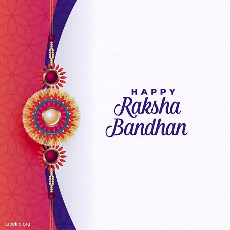 Colorful Rakhsa Bandhan Image Wallpaper