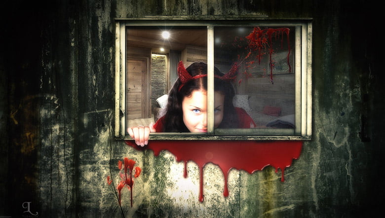 October Scary cover photos
