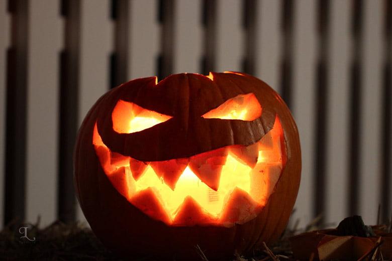 Scary Halloween Pumpkin Wallpaper